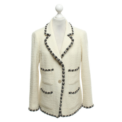 Chanel Blazer in cream