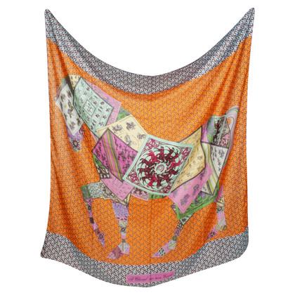 Hermès Tuch aus Kaschmir/Seide