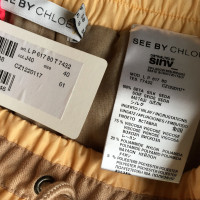 See by Chloé trousers from silk