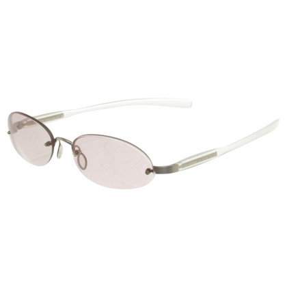 Prada Sunglasses with pink glasses
