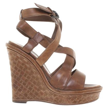 Bottega Veneta Sandaletten aus Leder