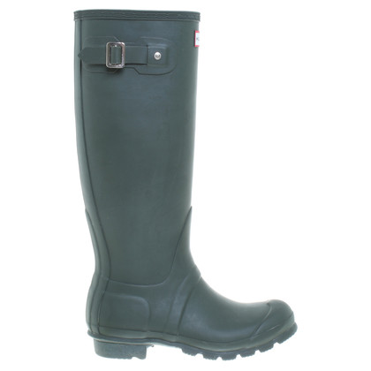 Hunter Rubber boots in green