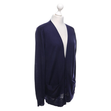 By Malene Birger Cardigan in lana color porpora
