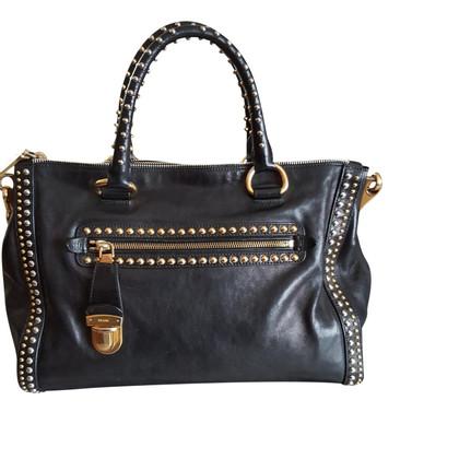 Prada Handtasche mit Nieten