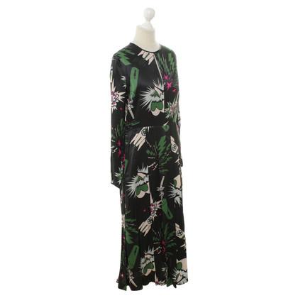 MSGM Kleid mit Space-Print