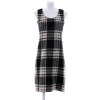 Marc Cain Wool dress with plaid pattern