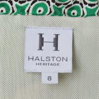 Halston Heritage Dress with bandeau neckline