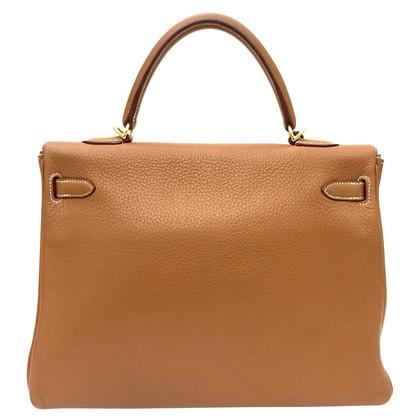 """Hermès """"Kelly Bag 35"""" van Clemence Leather"""