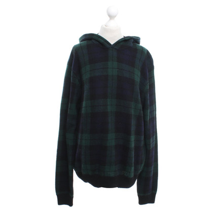Polo Ralph Lauren Checked sweater in blue / green