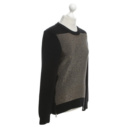 Proenza Schouler Sweater in black / gold