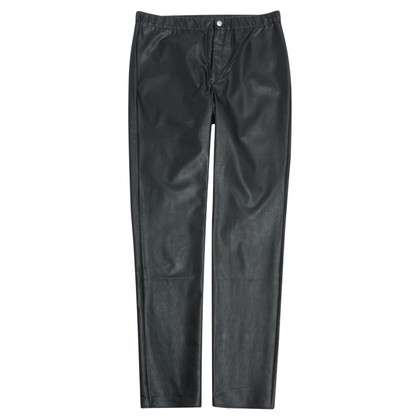 Isabel Marant Etoile Artificial leather trousers in black