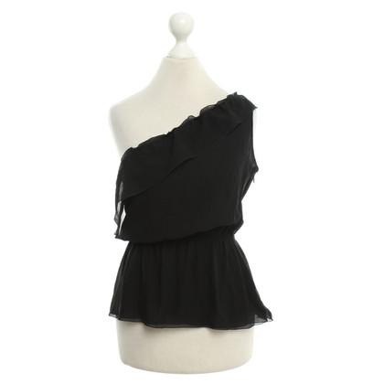 Karl Lagerfeld Silk in zwart