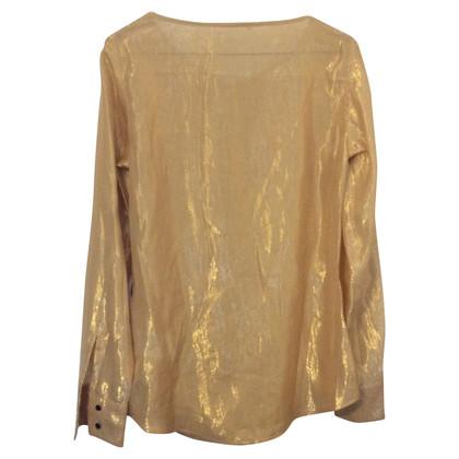 Max Mara blouse / polyester Soie