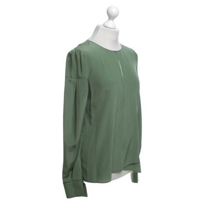 Dorothee Schumacher camicetta di seta verde