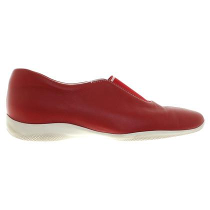 Prada Sneakers in Rot