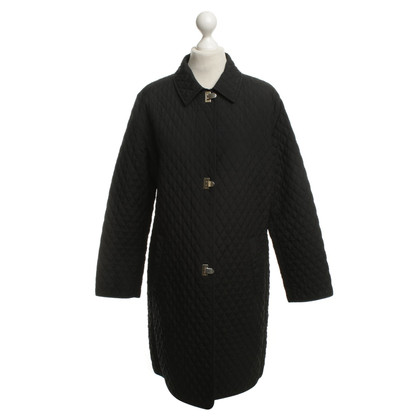 Basler Quilted Coat in Black