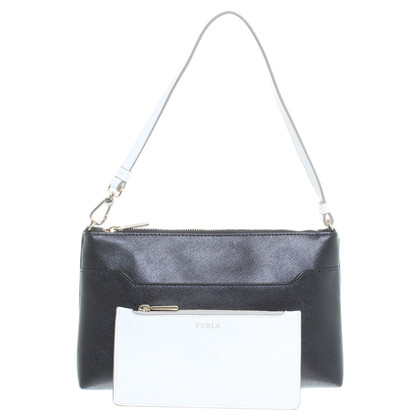 Furla Handbag in black and white