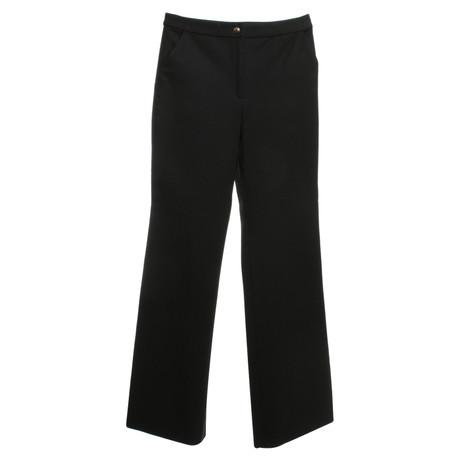 Versace Hose in Schwarz Schwarz