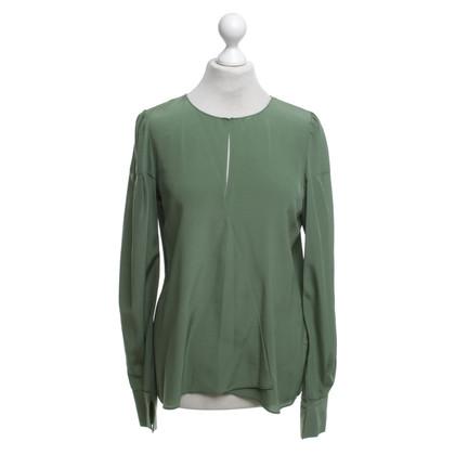 Dorothee Schumacher Zijden blouse in het groen