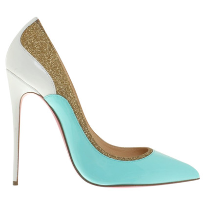 Christian Louboutin Pumps mit Glitzerapplikationen