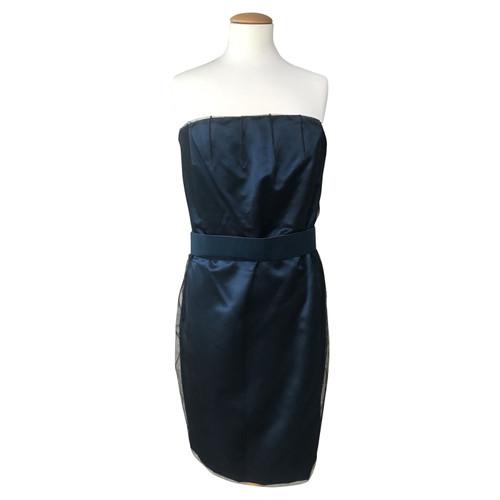Akris Corsage Dress Made Of Silk Second Hand Akris Corsage Dress