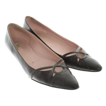 Prada Leather Ballerina Beeldjes