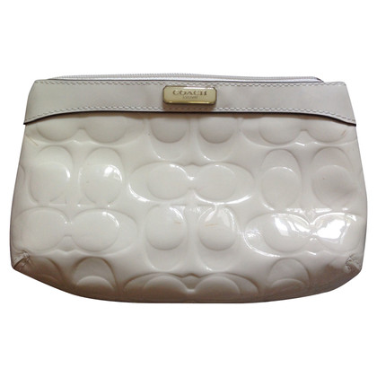 Coach Cream-colored clutch