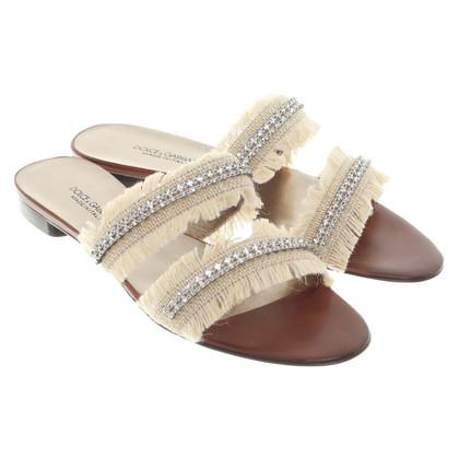 Dolce & Gabbana Sandali con frange