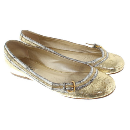Miu Miu Ballerina in Distressed