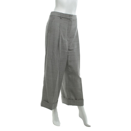 Max Mara trousers with houndstooth pattern