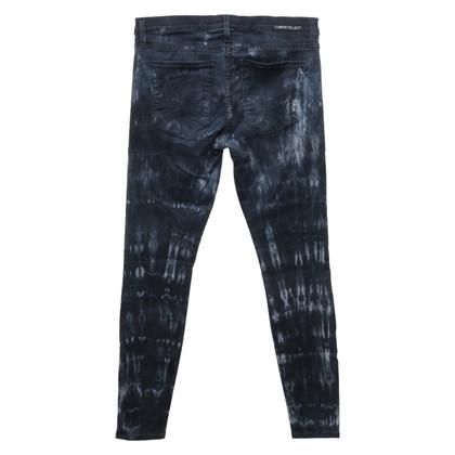Current Elliott Jeans met batikpatroon