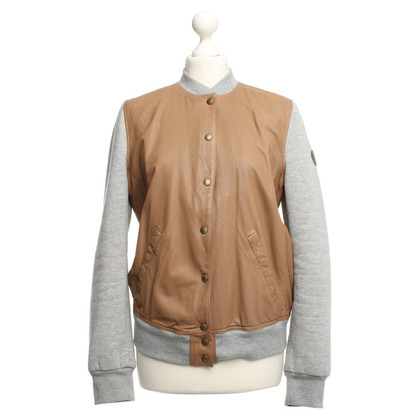 Closed College jacket in brown-gray