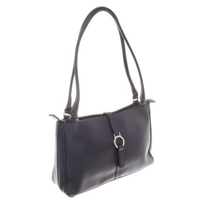 Les Copains Handbag in dark blue