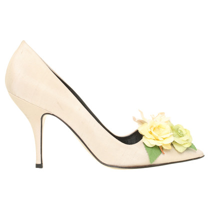 Viktor & Rolf pumps con fiore applicato