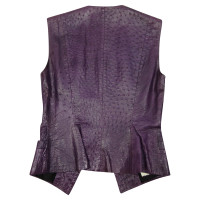 Loewe Ostrich leather vest