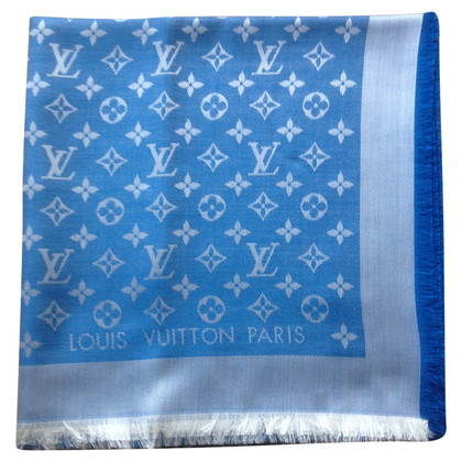 Louis Vuitton Monogram-Tuch in Blau