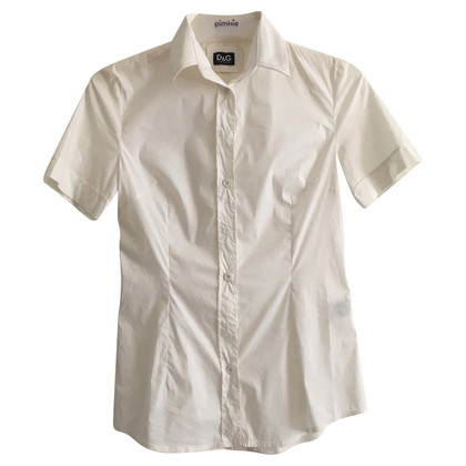 D&G Stretch-Shirt weiß