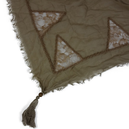 Twin-Set Simona Barbieri Brown scarf