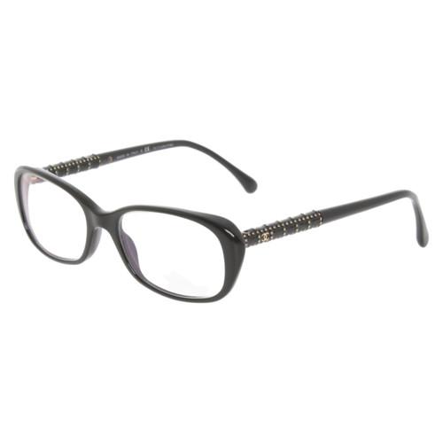 Chanel Monture de lunettes noire - Acheter Chanel Monture de ... eac1a64da036