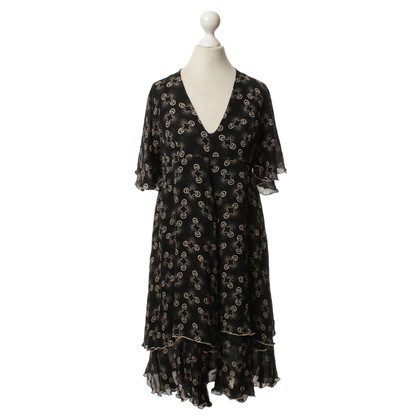 Anna Sui Dress with batwing sleeves