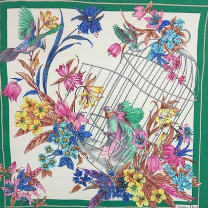 Christian Dior Christian Dior 100% seta foulard