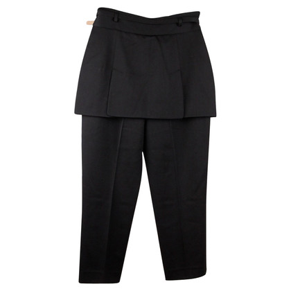 Alexander McQueen trousers with rock bib