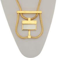 Yves Saint Laurent Goldfarbene Halskette