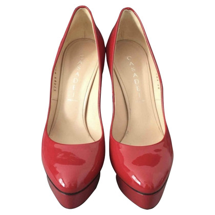 Casadei pumps in red