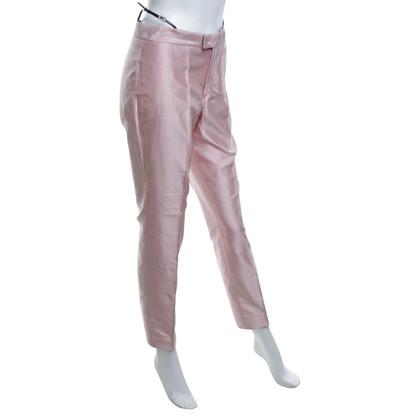 Gucci Seidenhose in Rosa