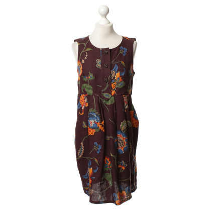 Christian Lacroix Linen dress with pattern