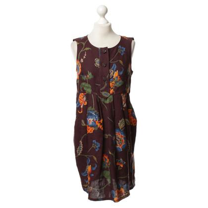 Christian Lacroix Linnen jurk met patroon
