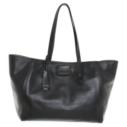 Miu Miu Shoppers in Black