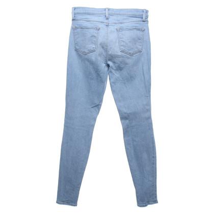 J Brand Skinny Jeans in lichtblauw