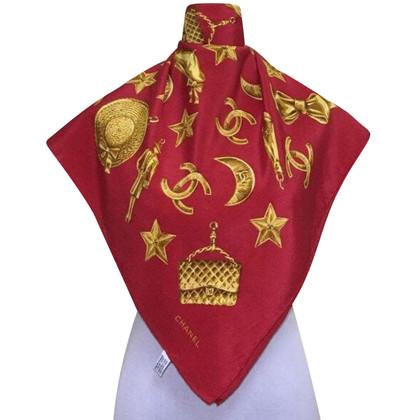 Chanel CHANEL sciarpa di seta Gioielli